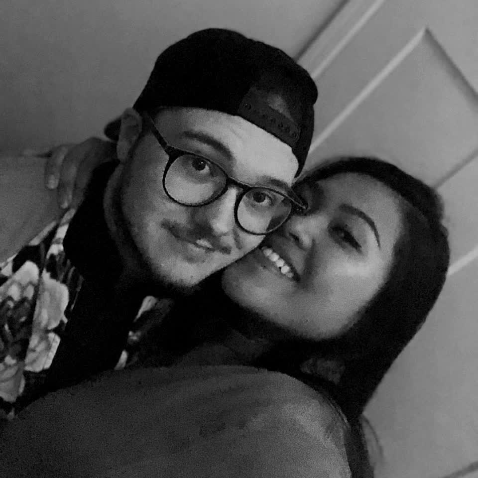 My best friend, my partna', my love & my forever! @iamcvind 😘 #iloveyou #nocomment #fire #music 💙