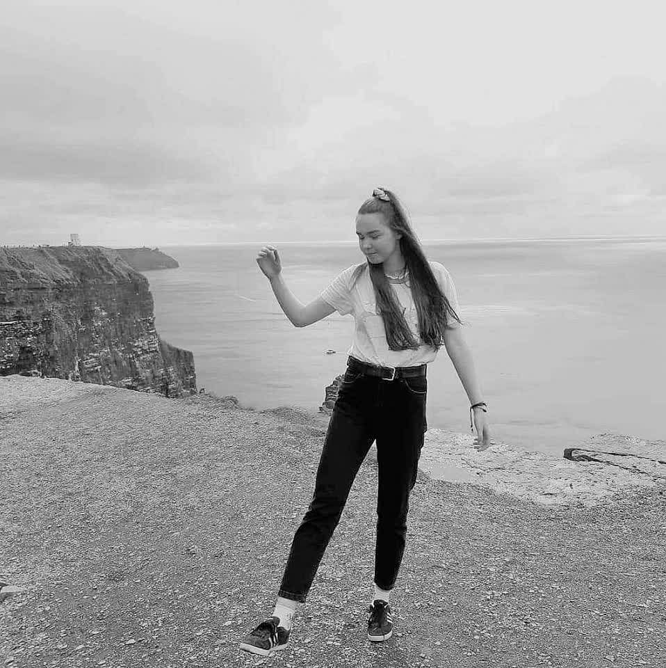 Shine on top 🇮🇪  #ocean #girl #poland #ireland #irish