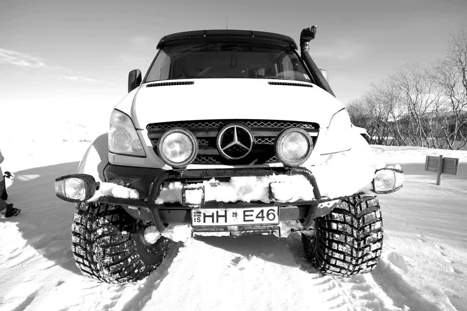 #iceland #travel #trucks #photography #mercedes
