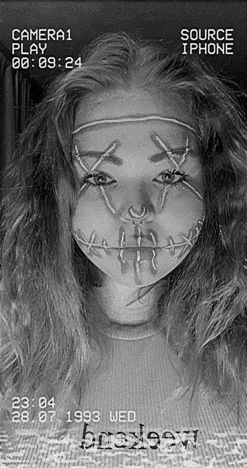 •spooky season• #nocomment #follow #like #halloween #makeup