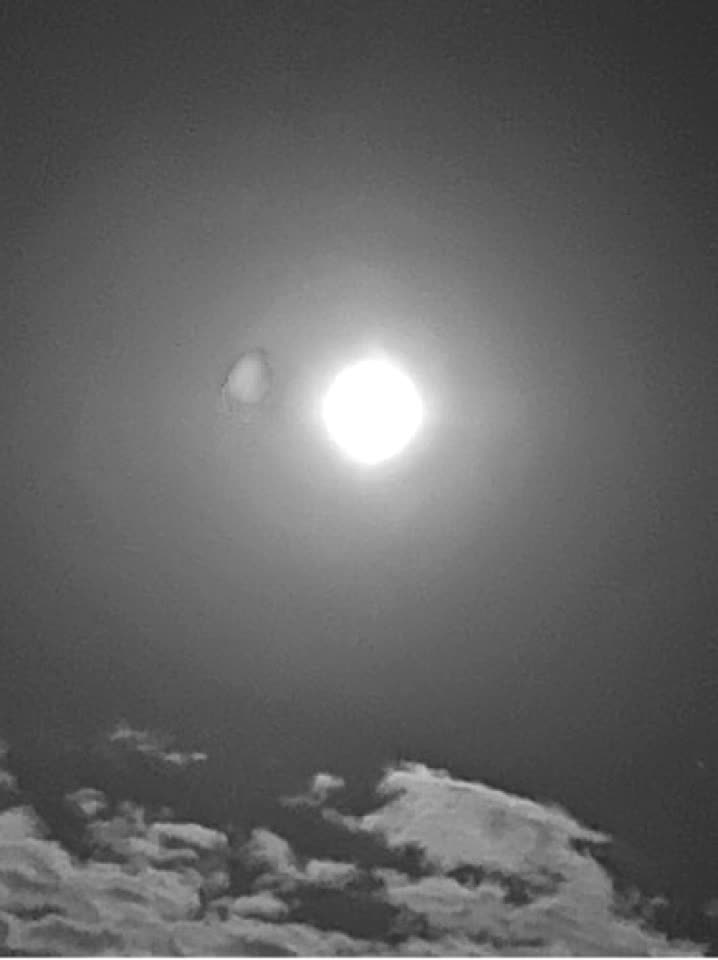 I just took the picture of moon 🌑 at sky 🌌  #trending #viral #love #instagram #tiktok #ejimo