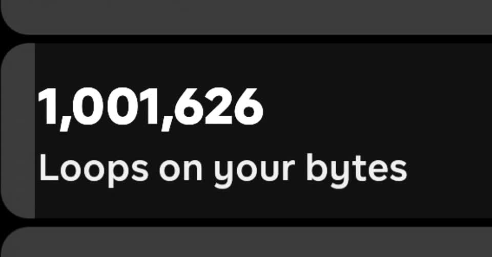 Officially hit 1 million views on byte! I'm so shocked I've come this far 👏 #byte #follow #fyp