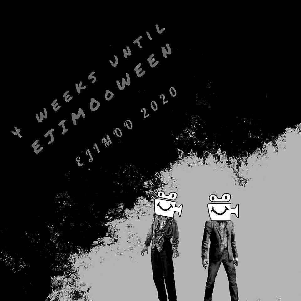 4 weeks until Ejimooween! @alfred  surely would be a great costume! #Ejimoween #Halloween #2020