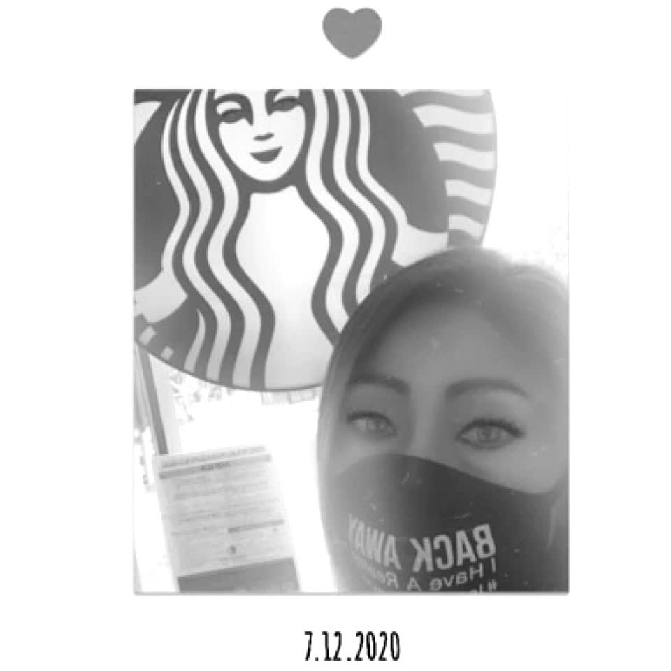 #selfie at #starbucks💋 #fire #unify #realunify #follow #like #love #photography #coffee #mask