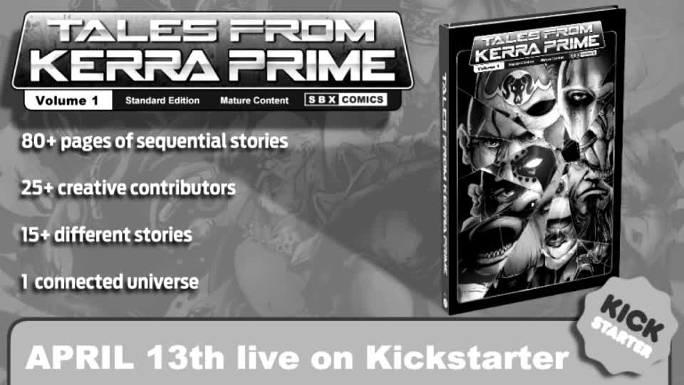 """""""Tales From Kerra Prime"""" by Brian Silverbax Now on Kickstarter #comics  More at TheSplintering.com"""