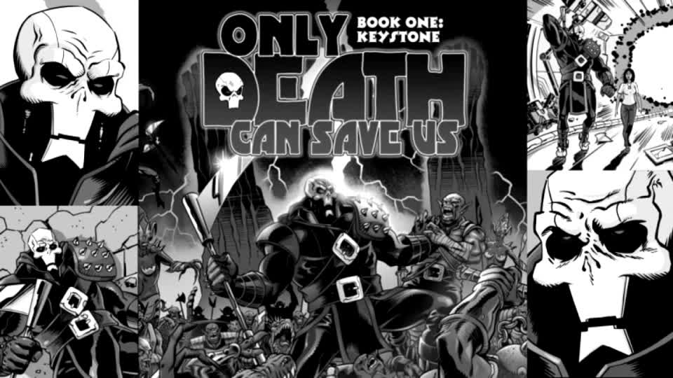 Crowdfunding Review: Only Death Can Save Us (Russ Leach) | #comics  More at TheSplintering.com