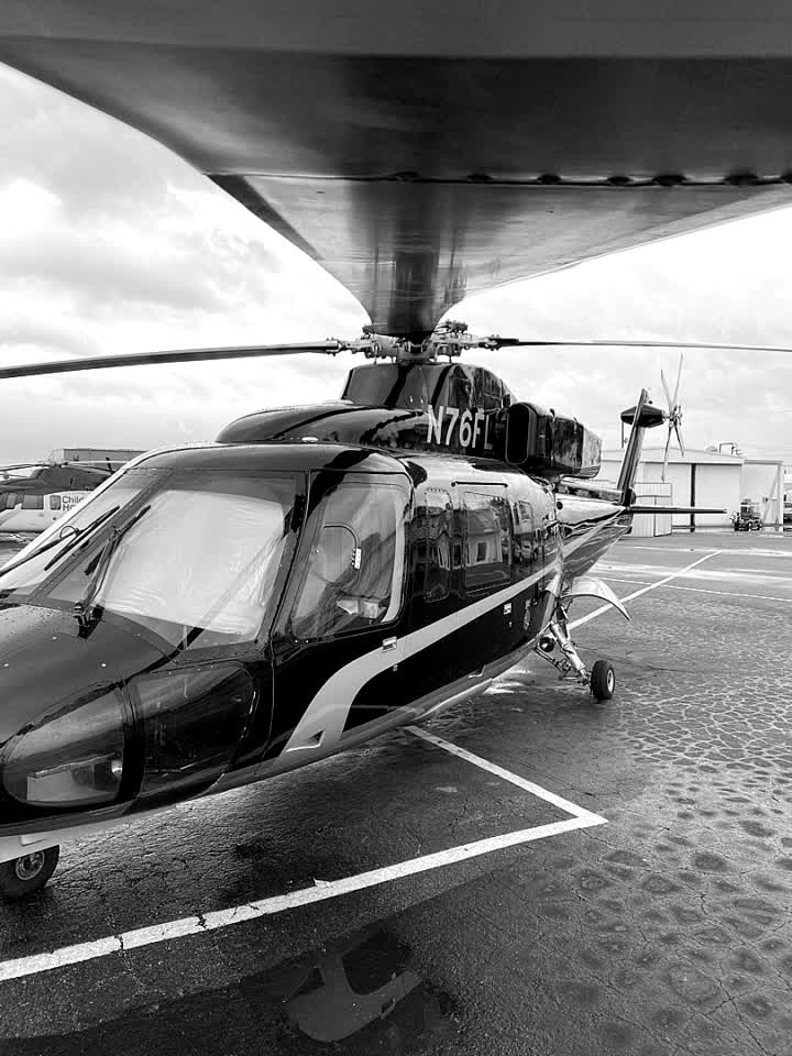 Looking down the barrel. . . . #unify #realunify #nocomment #helicopter #aviation