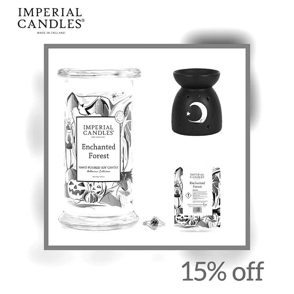 Magic Moonlight  Limited Edition Halloween Bundle  #halloween #jewellery #imperialcandles