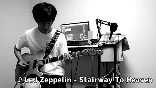 """""""Stairway To Heaven"""" by Led Zeppelin #guitar #music #followme #follow #fyp #foryou #ejimoo #new"""
