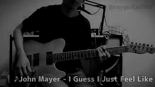 """I Guess I Just Feel Like"" by John Mayer #ejimoo #like #new #guitar #music #foryou #fyp #followme"
