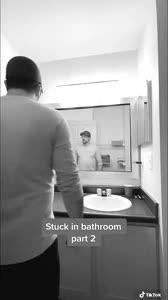 Stuck in the bathroom part 2 #Ejimoo #fyp #foryou