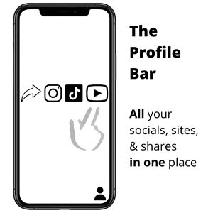 Meet me at the Bar Add all your links to your profile #howtounify